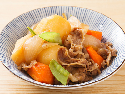 Nikujaga japanese meat potatoes stew