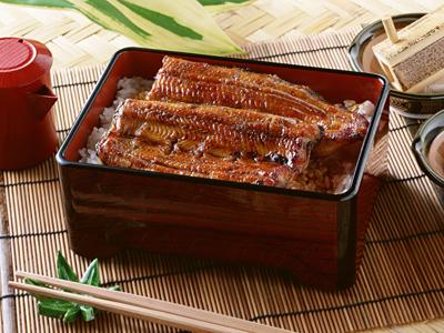 Unagi kabayaki grilled eel