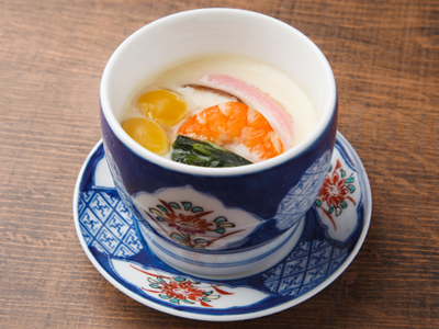 Chawanmushi steamed egg custard cups