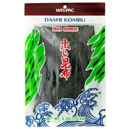 Japanese kombu kelp seaweed