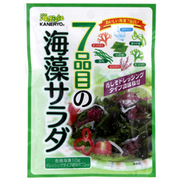 Japanese edible seaweed salad