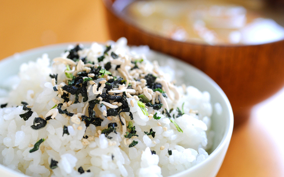 Sprinkle on rice furikake