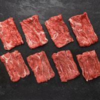 Frozen boxes meat