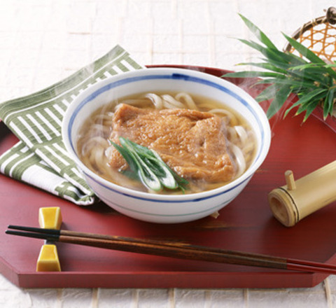 Photo kitsune udon