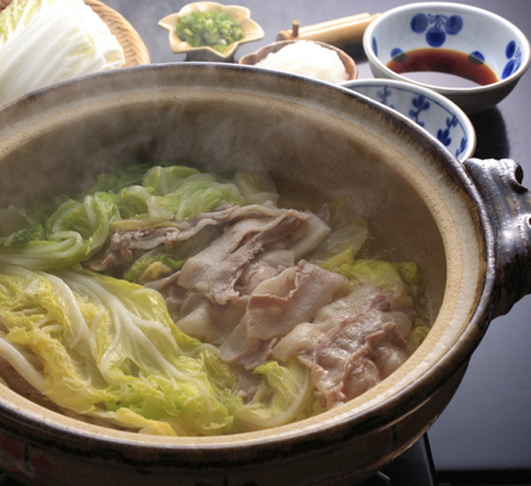 Cabbage & Pork Nabe Hot Pot