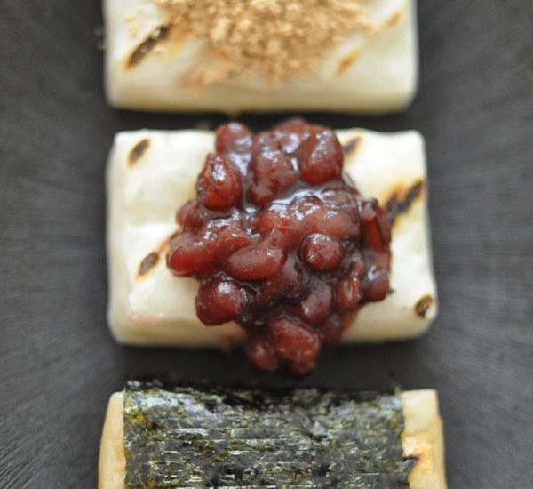 Sanshoku mochi (trefärgade riskakor)