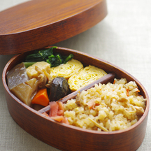 Original winter bento