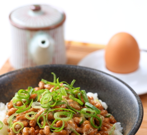 Natto Breakfast Bowl