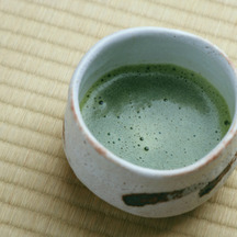 Photo japanese matcha green tea