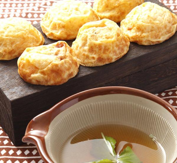 Akashiyaki aux algues nori