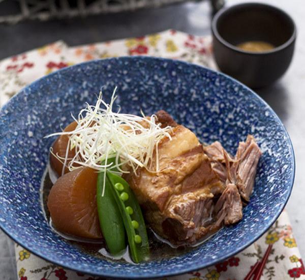 Pancetta di maiale arrosto (Buta Kakuni)