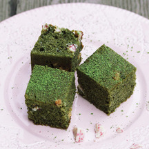 1258 matcha brownies