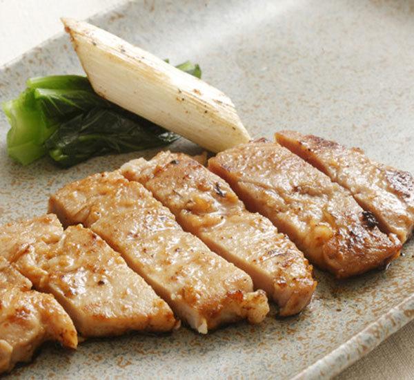 盐曲香煎猪肉