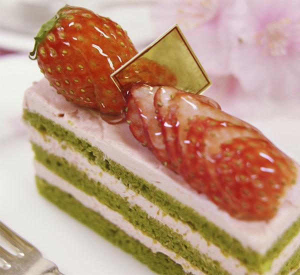 Shortcake med matcha