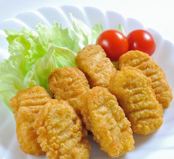 Nuggets de poulet au soja