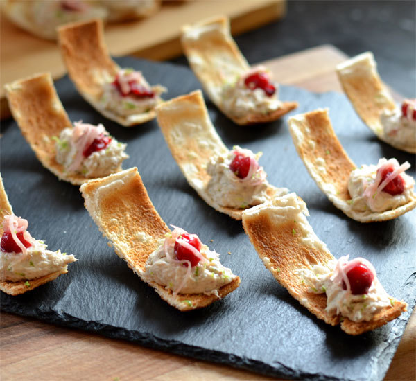 Smoked Mackerel Pâté With Cranberry, Lime And Ginger