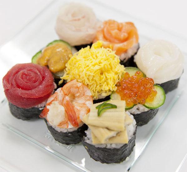 Amuse-bouche façon sushis