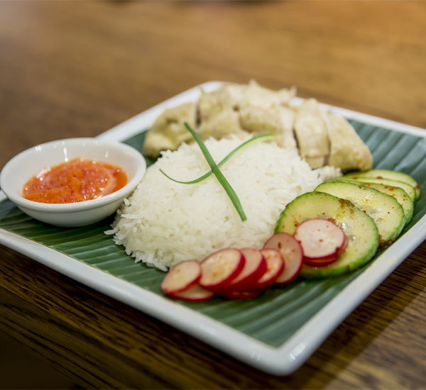 Drunken Hainanese Chicken Rice