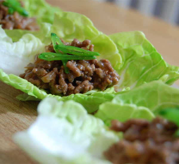 Teriyaki beef mince on lettuce cups recipe japan centre teriyaki beef mince on lettuce cups forumfinder Choice Image
