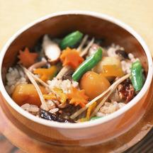 Rice cooker kamameshi