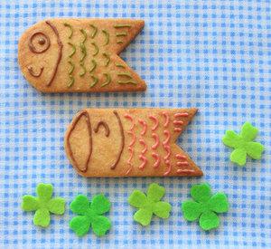 Koinobori biscuits