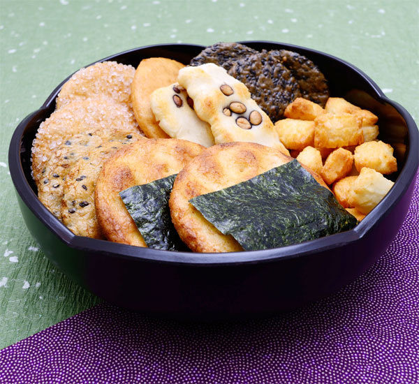 Homemade Senbei Rice Crackers