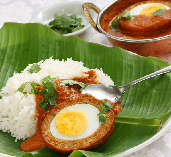 Scotch Egg Japanese Curry