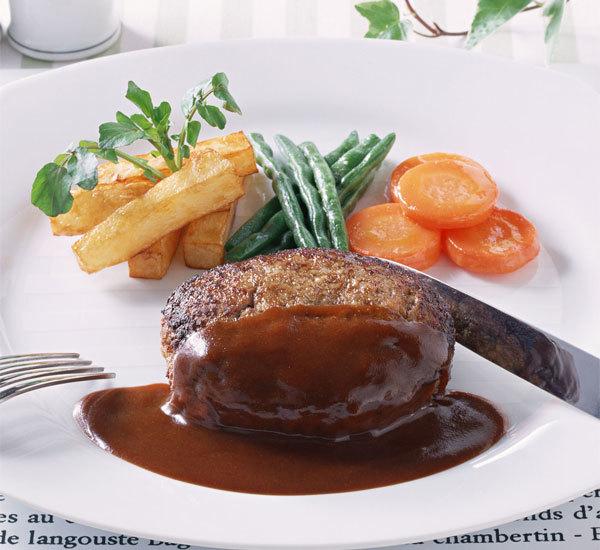 Steak haché japonais (hanbagu)
