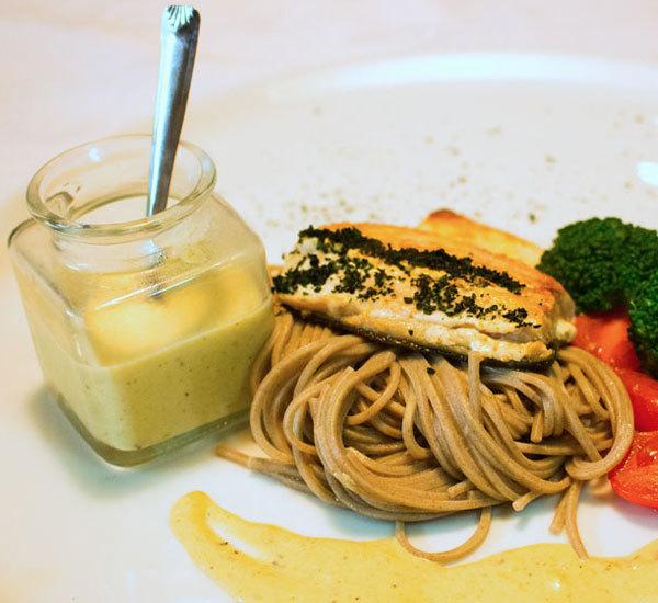 芥末奶油三文鱼