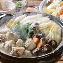 Photo mizutaki chicken hot pot