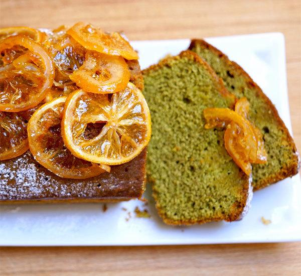 Matcha Lemon Drizzle Cake