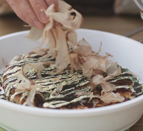 Okonomiyaki Japanese Savoury Pancake