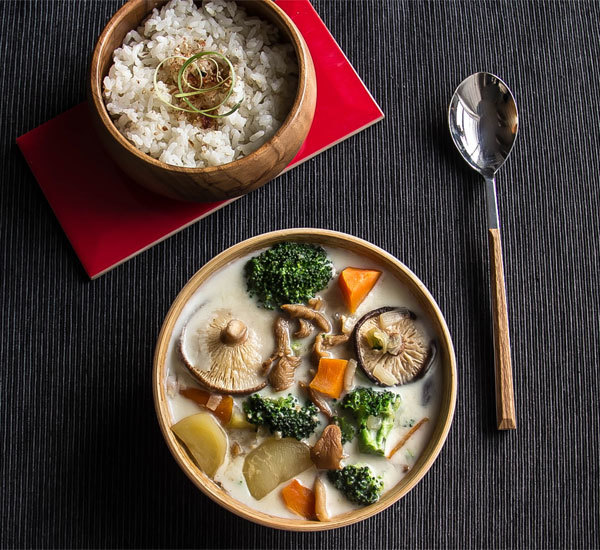 Japanese Cream Stew with Rice Koji