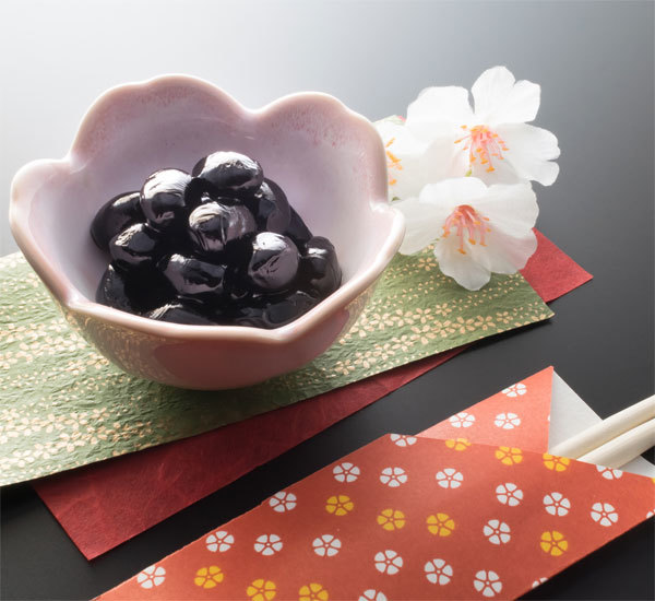 Kuromame Sweetened Black Soybeans