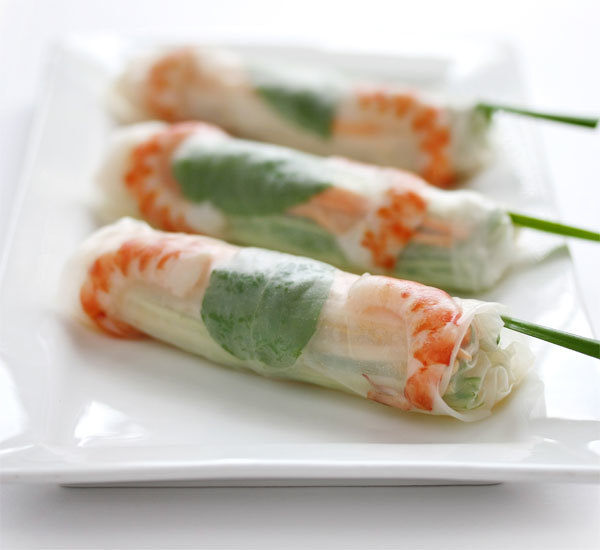 Fresh Spring Rolls With Japanese Style Sauce Recipe Japan Centre