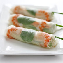 Quick and easy japanese recipes japan centre fresh spring rolls with japanese style sauce forumfinder Image collections