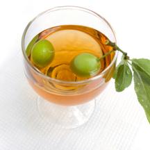 Photo fruit liqueur cocktails
