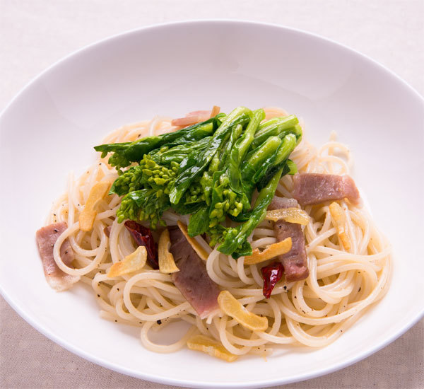 Japanese Style Pasta with Burdock and Miso Sauce