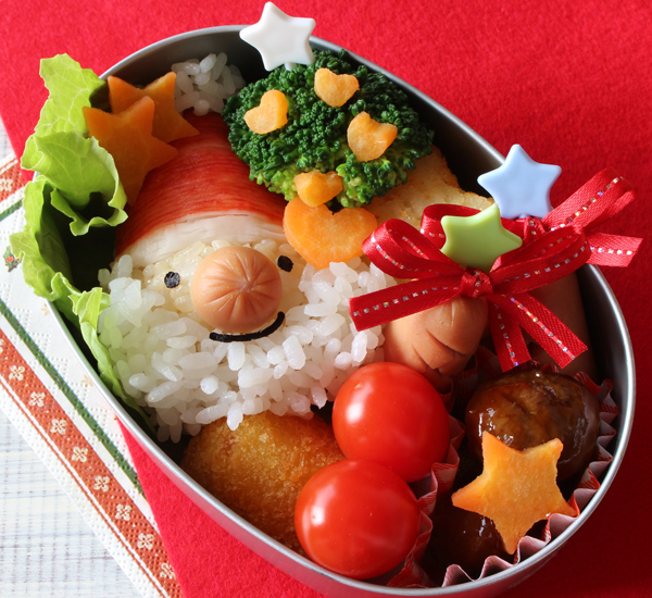 Christmas Santa Decorative Bento