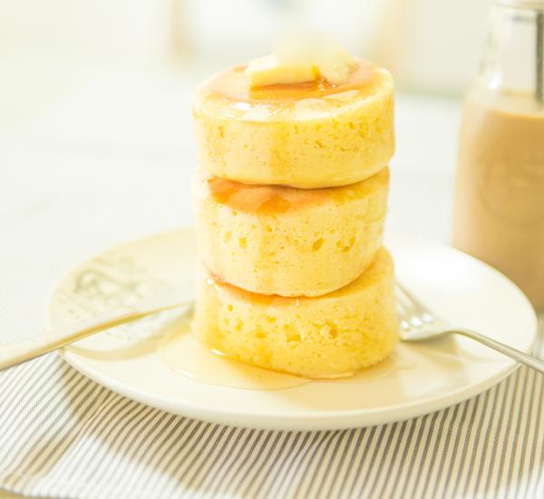 Japanese Atsuyaki Thick & Fluffy Pancakes