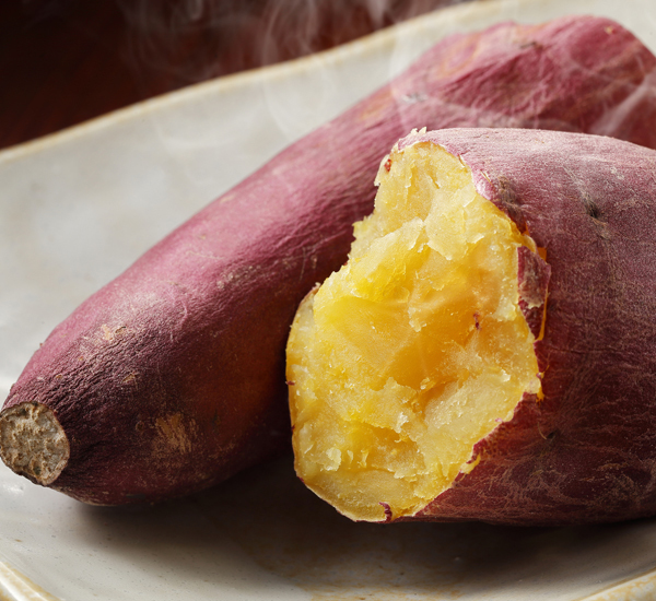Japanese Baked Sweet Potato