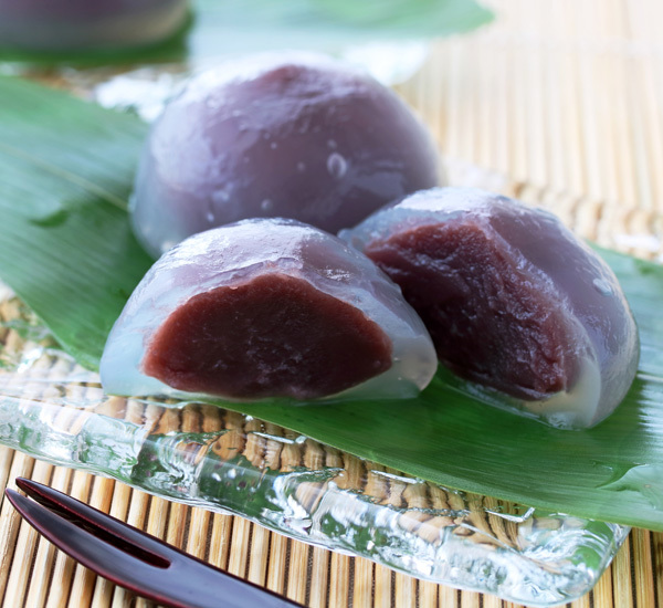 Mizu Manju with Azuki Bean Paste