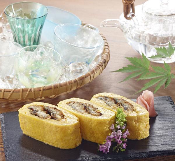 Umaki Eel Filled Rolled Omelette