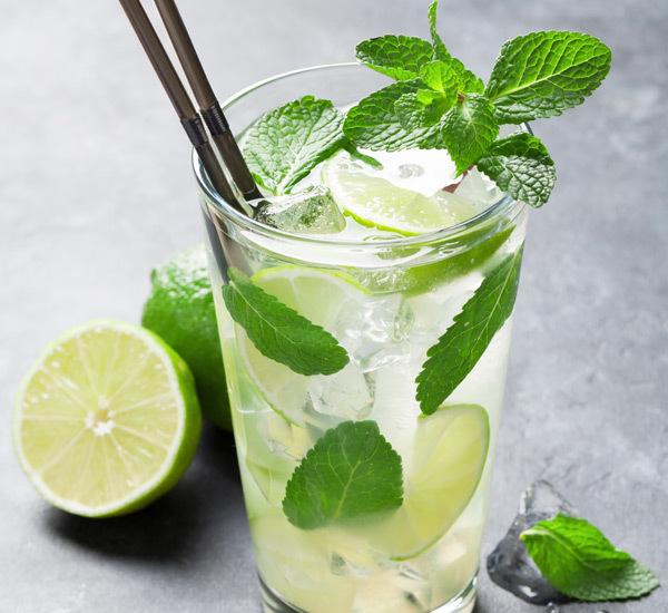Umeshu Mojito Cocktail