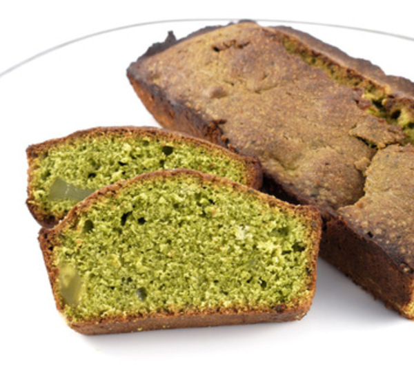 Matcha Green Tea And Sweet Chestnut Cake