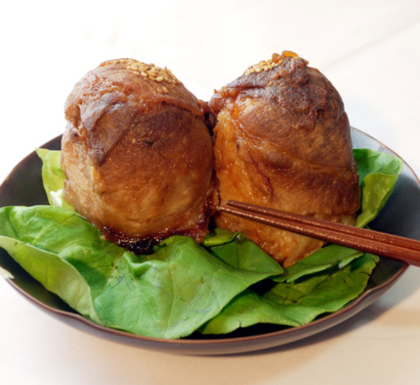 Nikumaki Onigiri Meat Wrapped Rice Balls