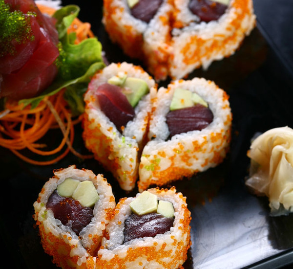 心形情人节寿司
