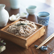 Photo zaru soba chilled noodles