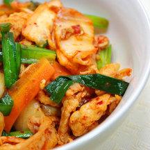 490 kimchi donburi