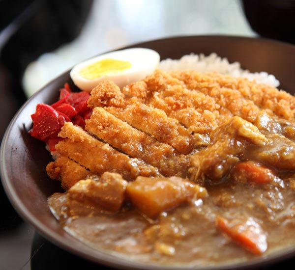 日式炸猪排咖喱